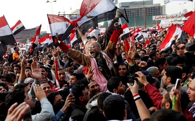 Demonstrators across Egypt press Egypt's military to speed up democratic reforms