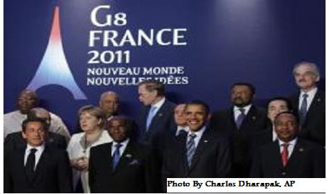 G8 pledges leaders pledge $20 billion in to Tunisia and Egypt