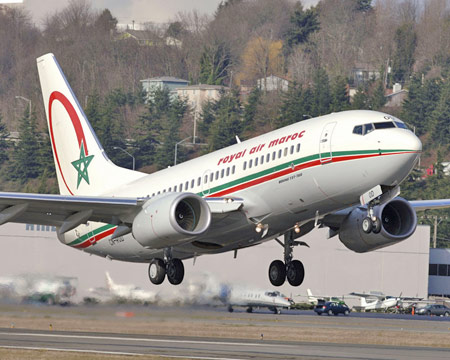 Royal Air Maroc Livery Courier Departing