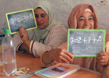 US aid is helping Moroccan women to read and write