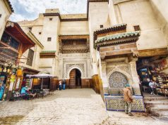 Ennejjarine square in the medina of Fez, Morocco