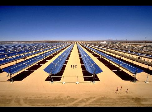 US Channel Says Morocco 'Turns the Sahara Desert Into a Solar Energy Oasis
