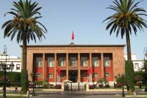 Moroccan Parliament in Rabat