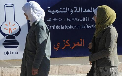 The Moroccan government confirmed on Saturday, November 26, that the moderate Islamist Justice and Development Party (PJD) had won parliamentary elections(Photo-On Islam)