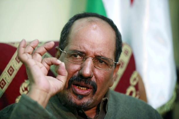 Mohamed Abdelaziz, leader of Polisario