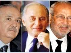 Miloud Chaabi, Othmane Benjelloun and Anas Sefrioui