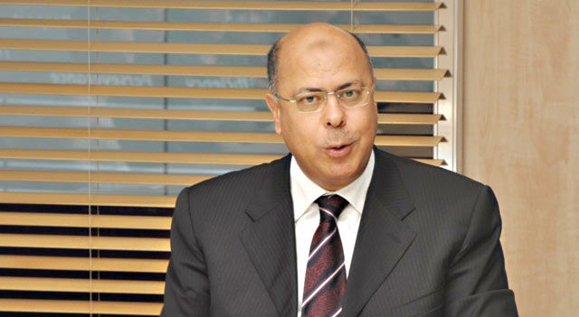 The CGEM President Mohamed Hourani