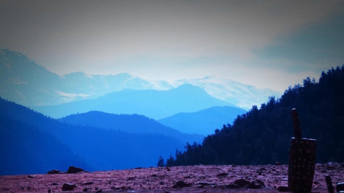 The High Atlas Mountains. Photo by Mohammed BOULKOUMIT