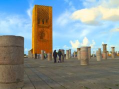 The Hassan Tower in Rabat