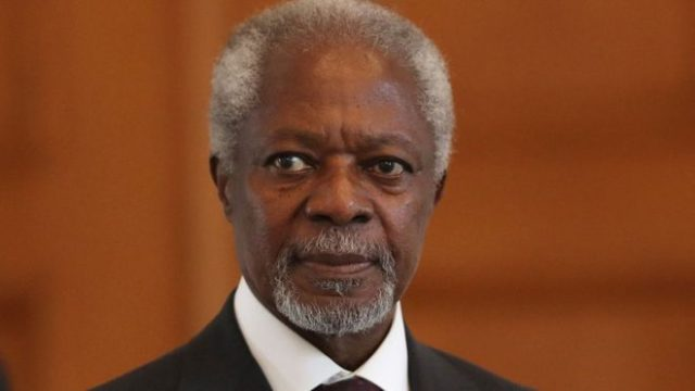 'The longer we wait, the darker Syria's future becomes': Kofi Annan