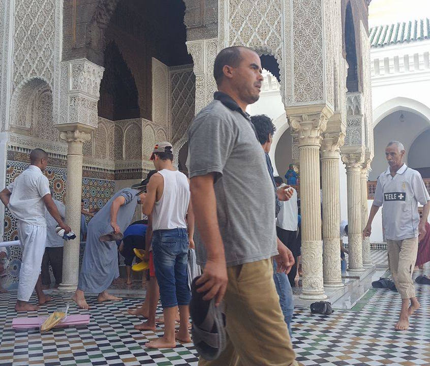 Prayers in Morocco during Ramadan