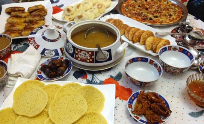 Ramadan in Morocco and Women, Hard Work in the Households