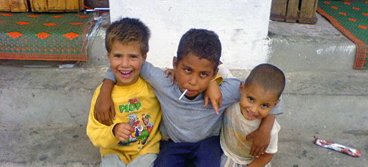 Street Children in Morocco