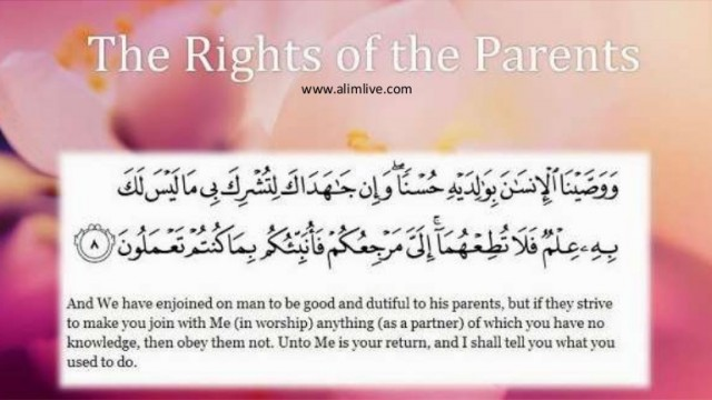 The Importance of Parents In Islam