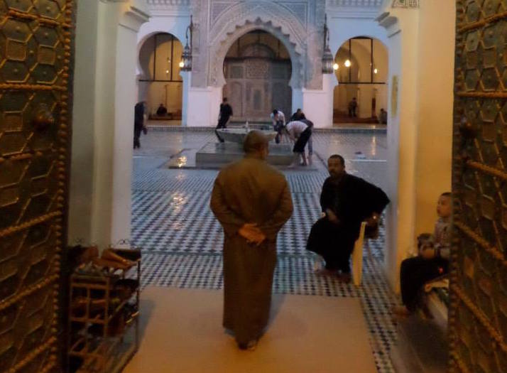 Mosque in Fez, Morocco