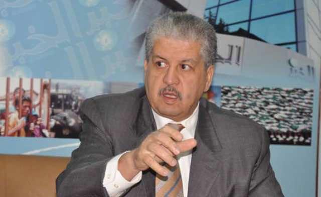 Algeria Prime Minister Abdelmalek Sellal