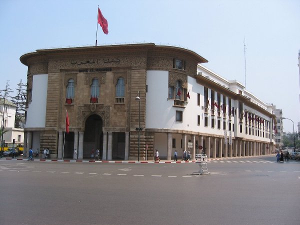 Bank Al Maghrib in Rabat, Morocco