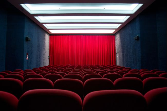 Cinema seats. AFP-Getty Images