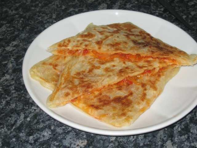Moroccan Cuisine: Recipe for stuffed Msemen