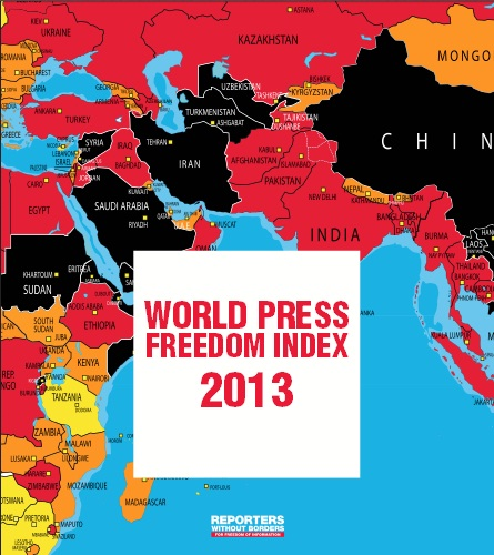 world press freedom index 2013 disappointing for arab spring countries