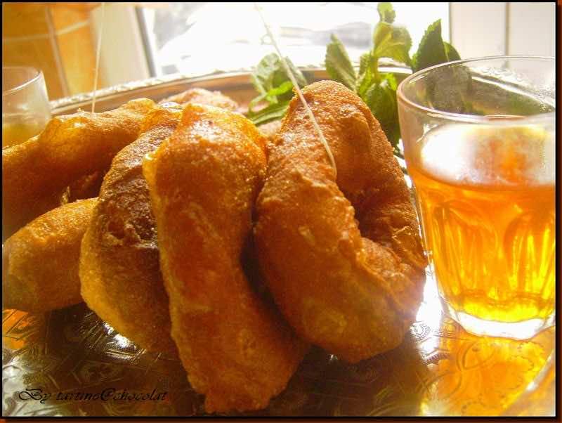 Sfenj in Moroccan cuisine