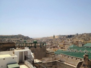 Al Qarawiine Mosque in Fez. Photo by Benjamin Villanti-MWN