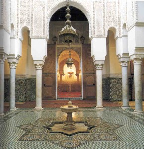 Moulay Ismail Mausoleum inside