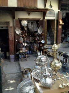 Souk Sefarine in Fez Medina. Photo by Benjamin Villanti-MWN