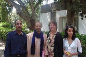 Dr. Ruth E. Petzold with Rachid Khouya
