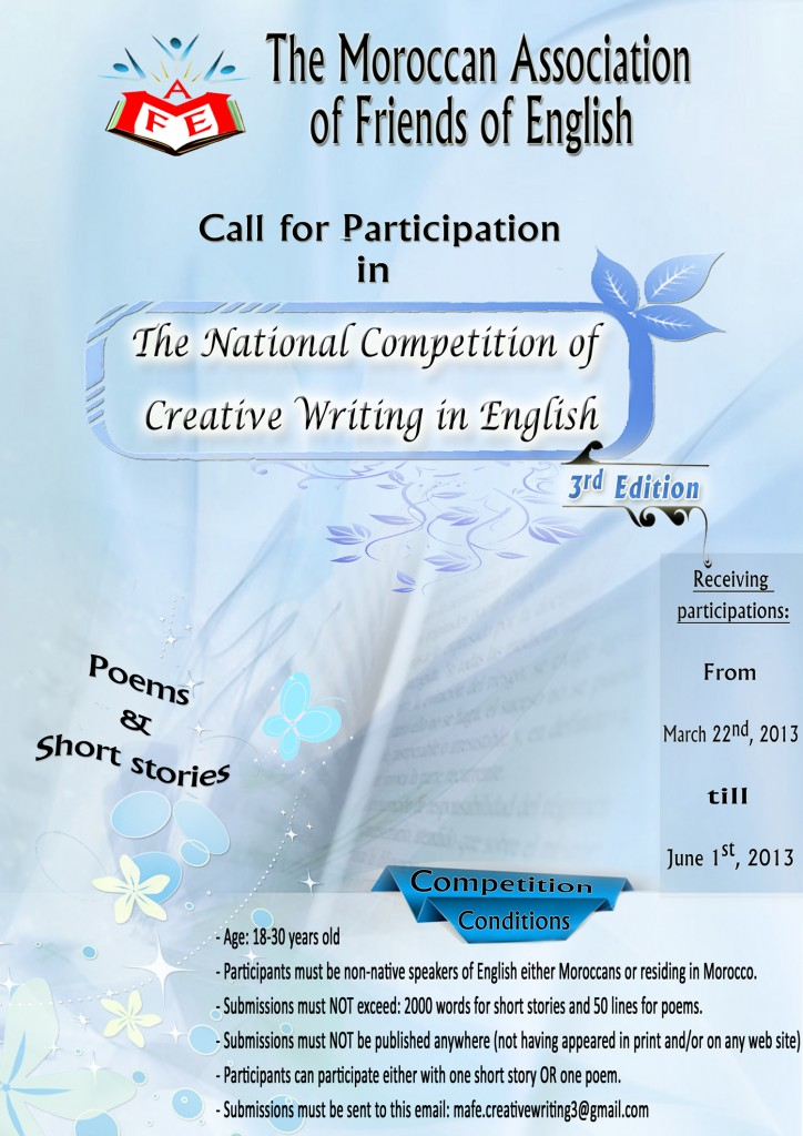 english essay writing competition 2013