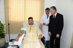 Mohammed VI launches a blood campiagn