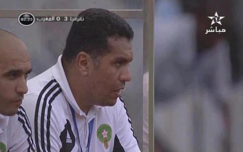 Moroccan national coach Rachid Taoussi