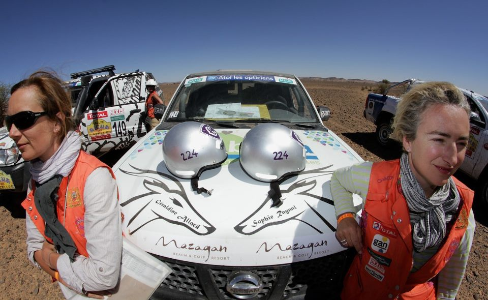 Rally Aicha des Gazelles, Day Eight in Erfoud. Picture by Helene Celemenson for Morocco World News)