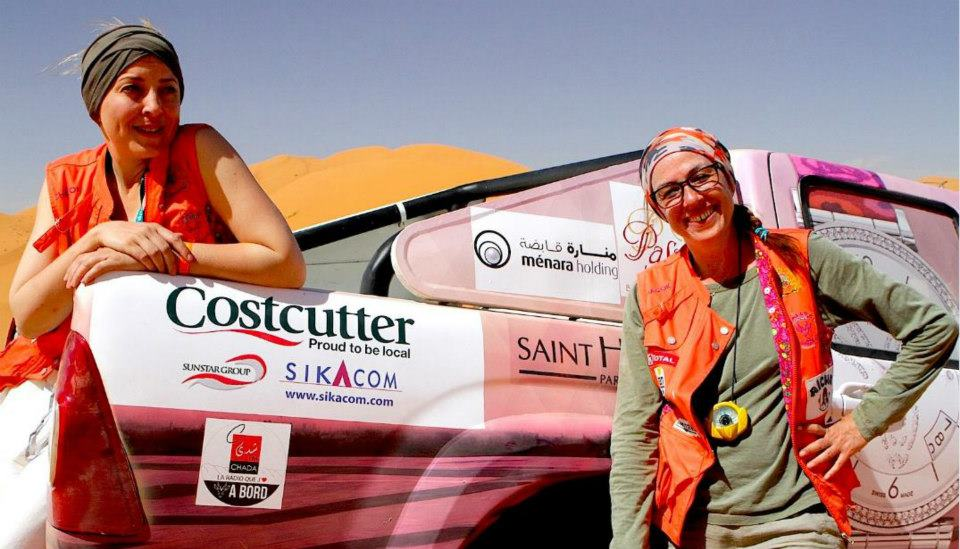 Rally Aicha des Gazelles, Day three in Zegoura (picture by Helene Celemenson for Morocco World News)