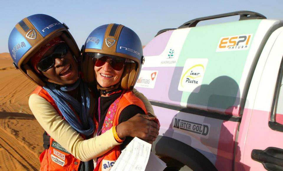 Rally Aicha des Gazelles, Day three (picture by Helene Celemenson for Morocco World News).