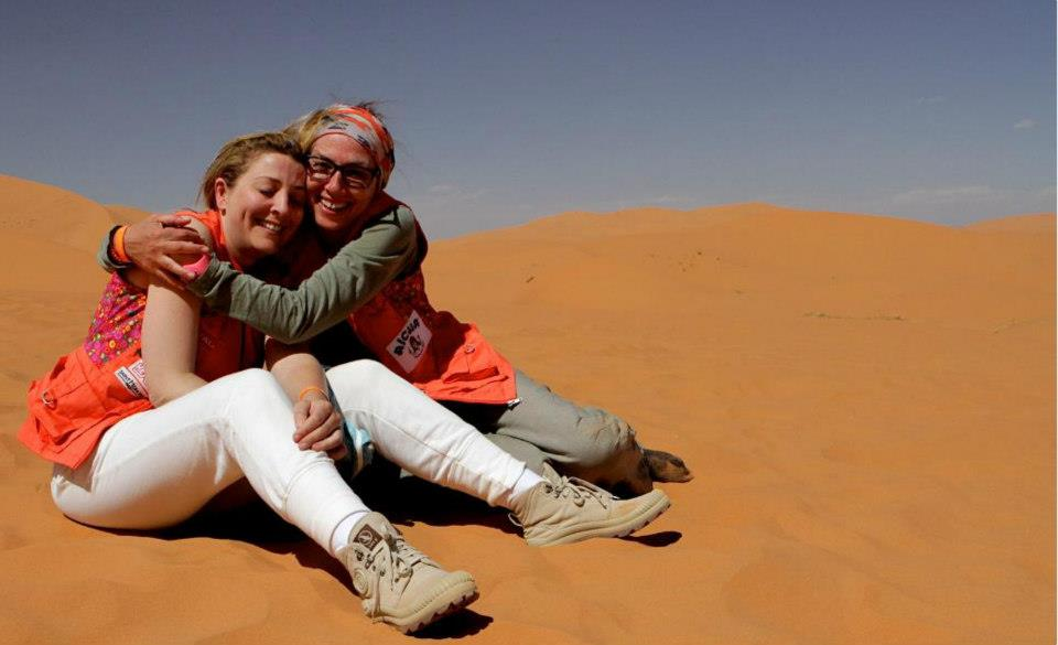 Rally Aicha des Gazelles, Day two (picture by Helene Celemenson for Morocco World News).