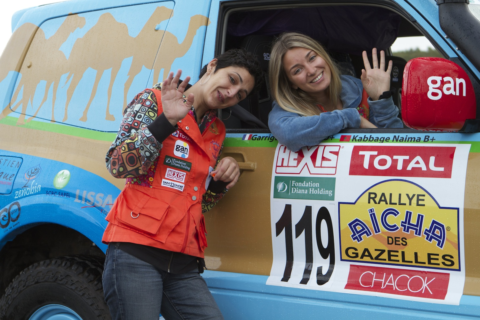 Rally Aicha des Gazelles, First Stage (picture by Helene Clemenson for Morocco World News)