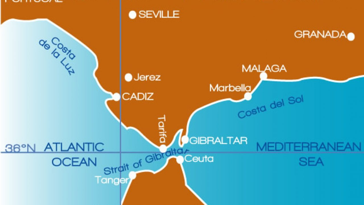 Map Of Spain Gibraltar And Morocco.Morocco Spain Relations Being Consolidated In Extraordinary Manner