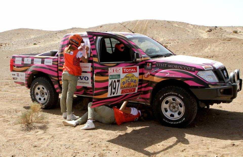 Rally Aicha des Gazelles 2013: first race