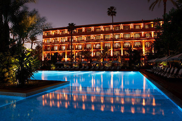 La mamounia of marrakech ranks 6th among top 10 castle for Best hotels worldwide