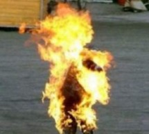 Moroccan Man Sets Himself on Fire in Protest