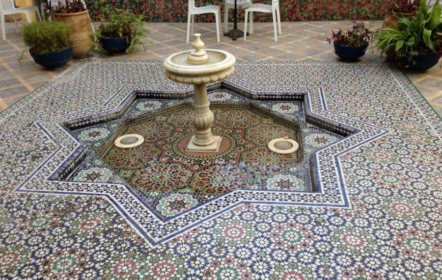 Beautiful Fountain in the Old Medina of Fez. Photo by Paulina Velasco for Morocco World News