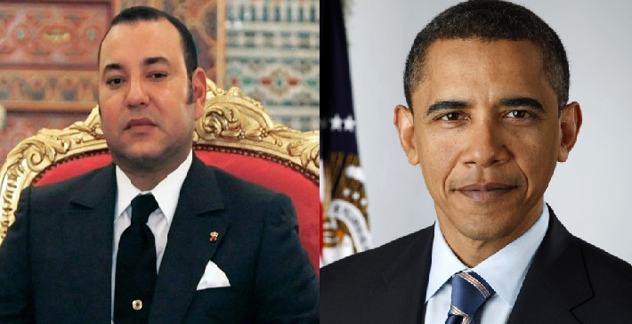 KIng Mohammed VI and Obama