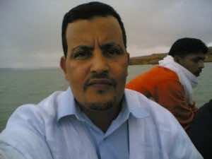 Mr. Sidi Abdi El idrissi, sheikh of the Ergaybat Laayaycha tribe