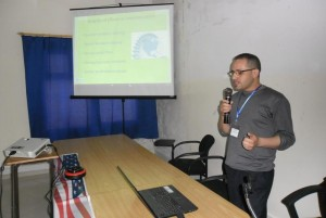 Youssef El Kaidi at AMA Youth-Led Projects