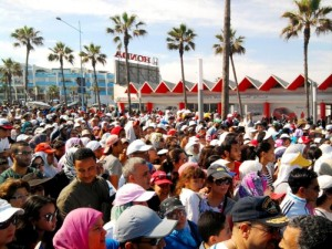 Moroccan demonstrating against Pedophilia. Photo by Mouhssine Baron Arfa for Morocco World News