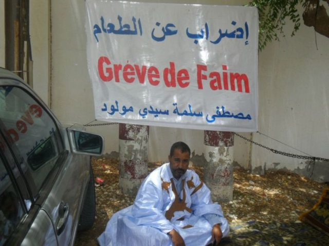 Mustapha Salma on hunger strike in protest against the Polisario and the UNHCR