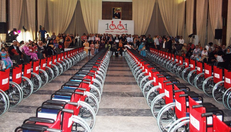 The Project '1001 Wheelchairs for 1001 Smiles'