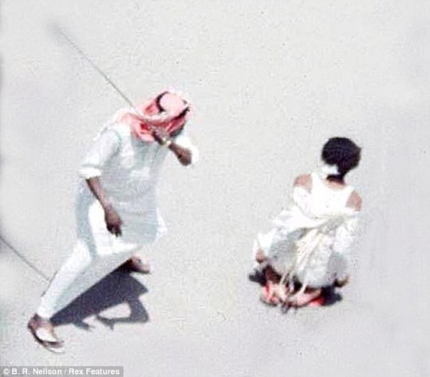 the number of executions in Saudi Arabia