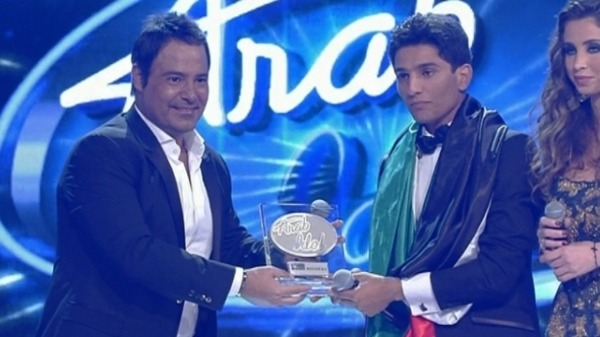 "Palestinian singer Mohammed Assaf crowned the ""Arab Idol"""